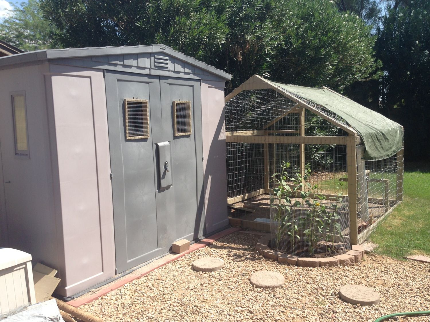 Resin shed coop for Resin garden shed