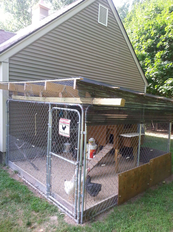 Roof Design For Dog Kennel Runs