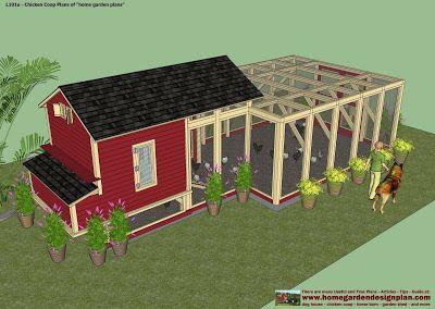 Free chicken coop run plans for 25 chickens w videos for Maintenance free chicken coop