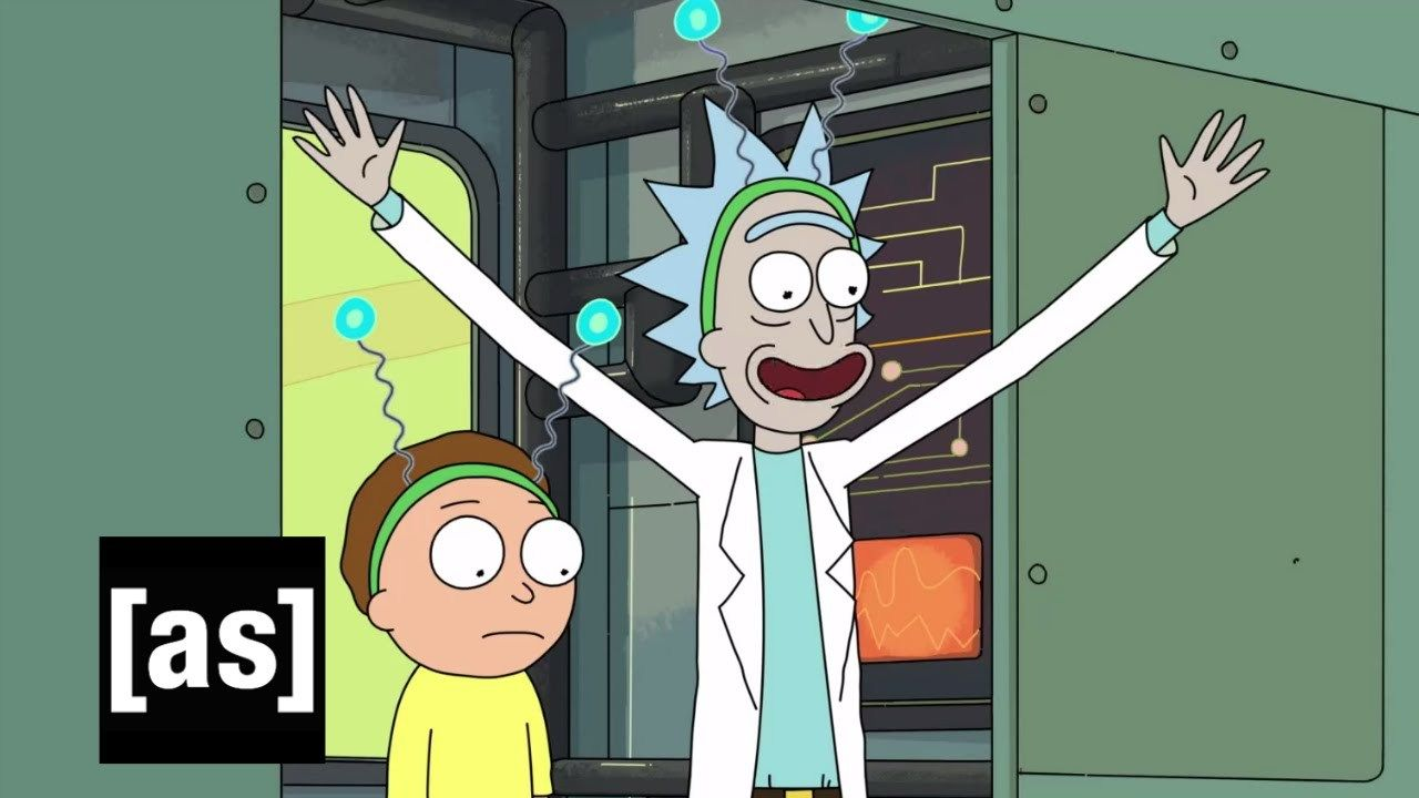 THE BEST SHOW IN THE WORLD: RICK AND MORTY