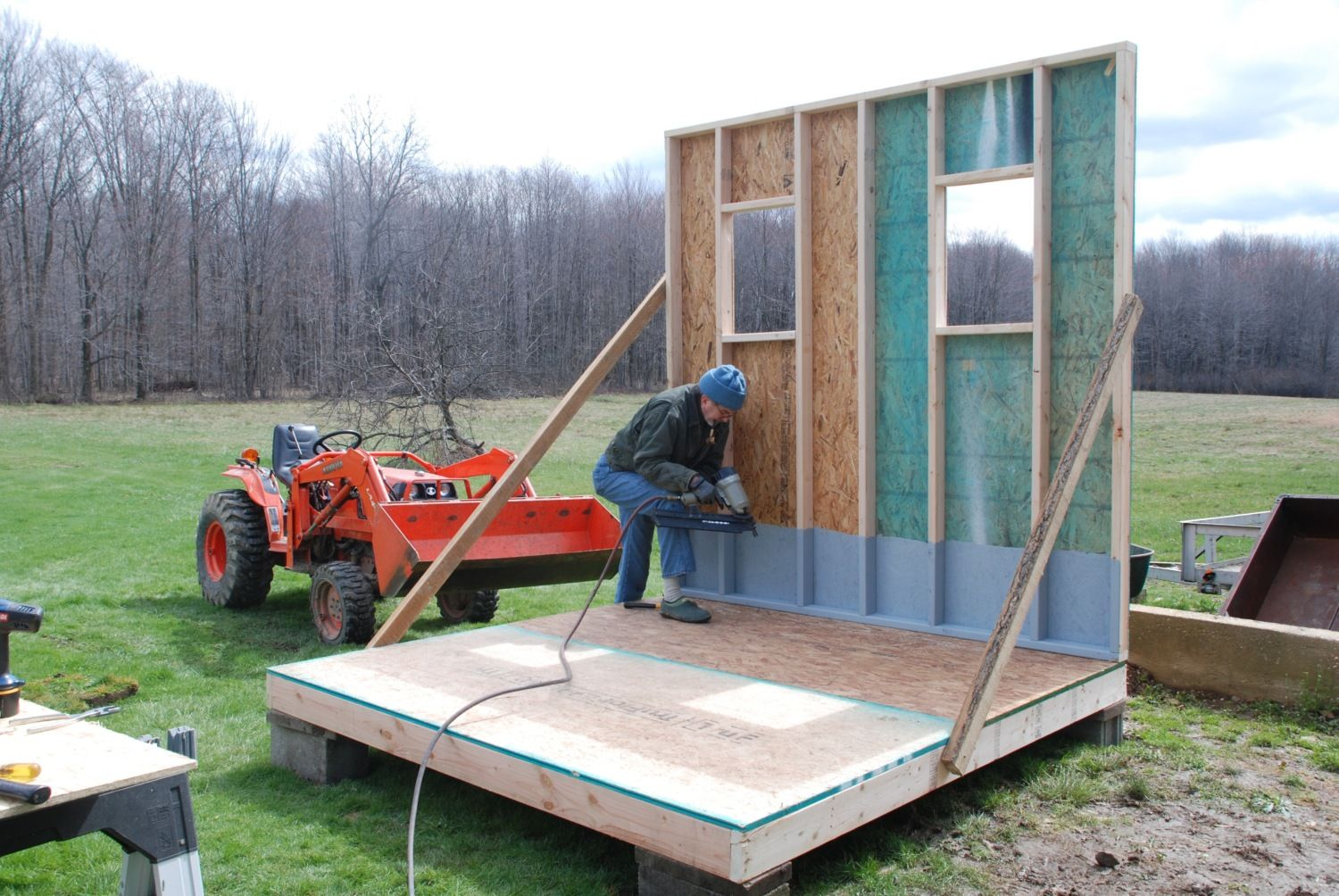 """Chicken Coop and Run, dubbed """"Hardscramble"""""""