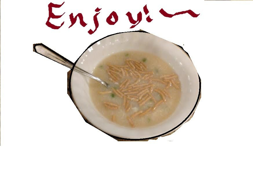 My Egg Drop Soup~