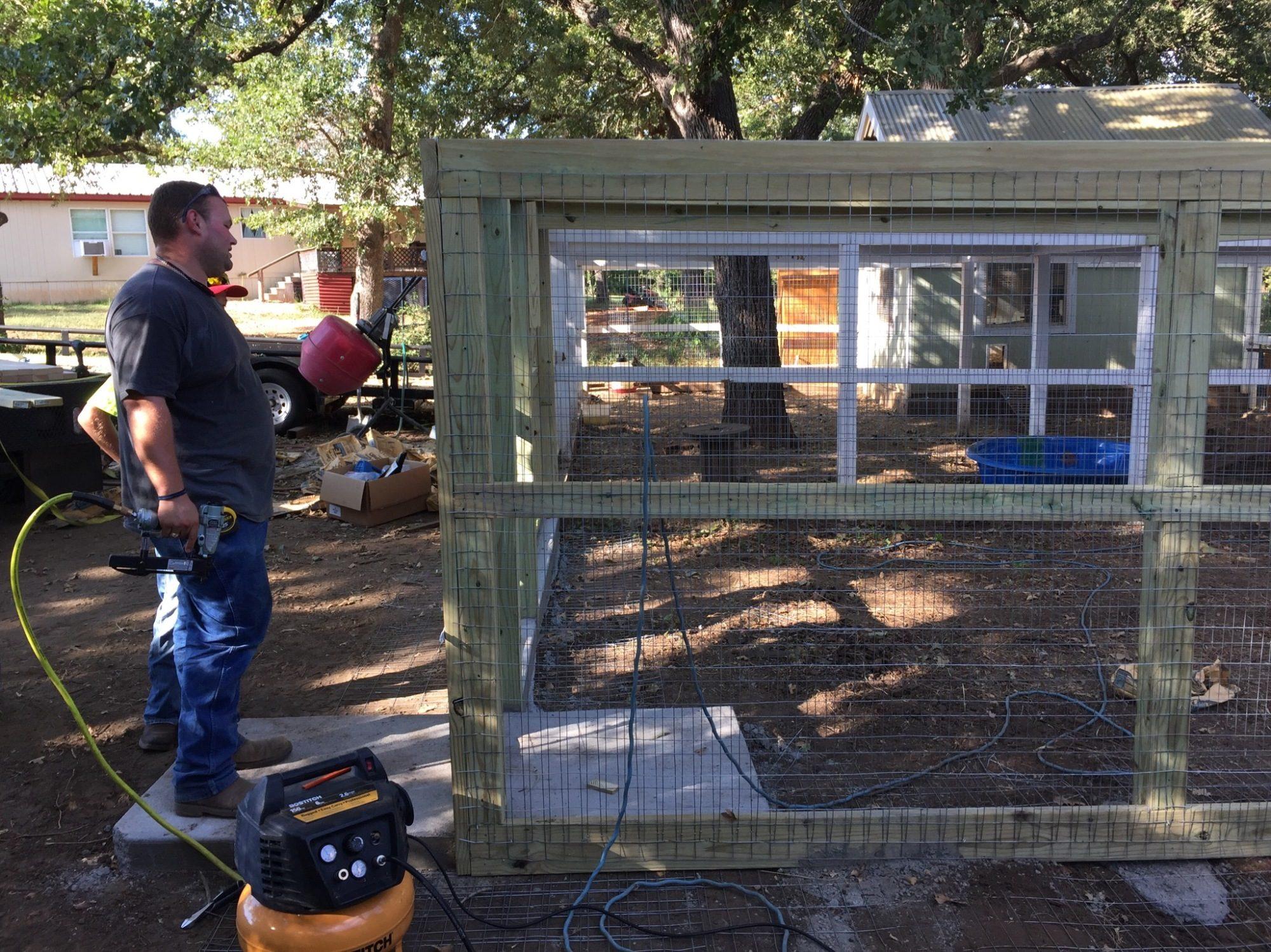 Chicken Coop Expansion