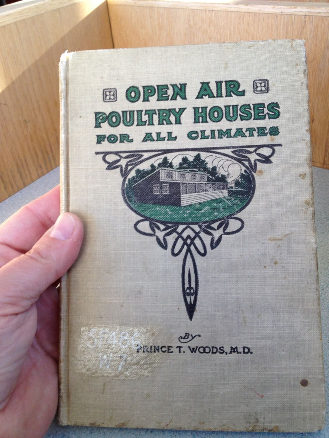 open air poultry houses for all climates book in hand i think