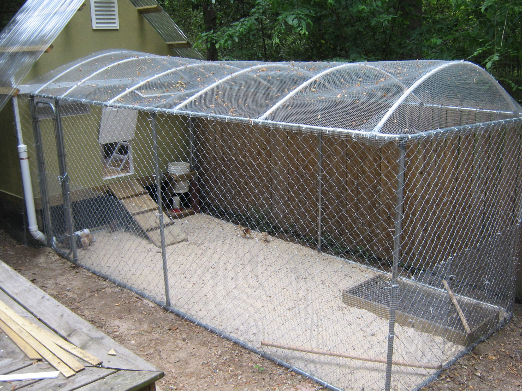 How High Should My Chicken Run Fence Be Backyard Chickens