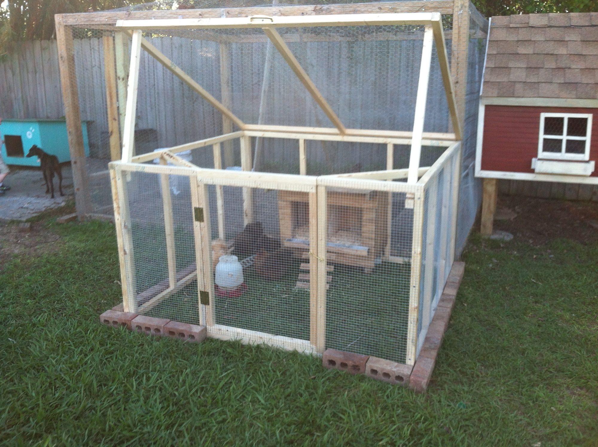 My New Silkie Coop My Hubbies Ingenious Design Backyard