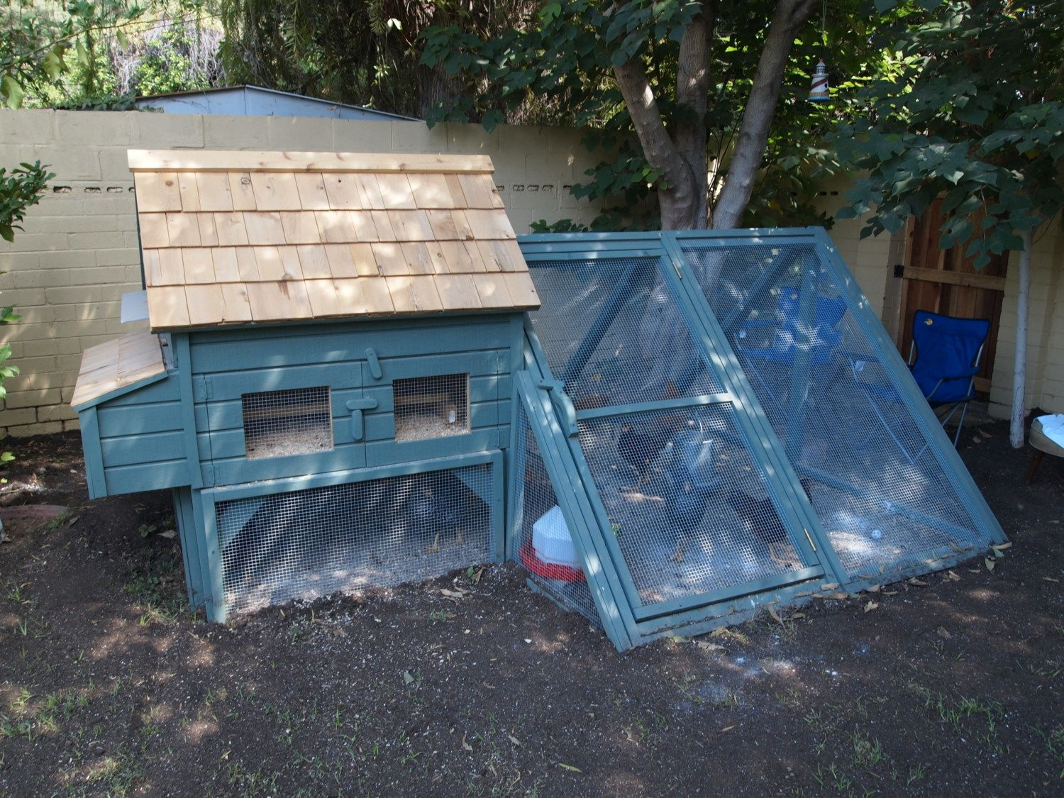 mister system for my coop live in phoenix az backyard chickens