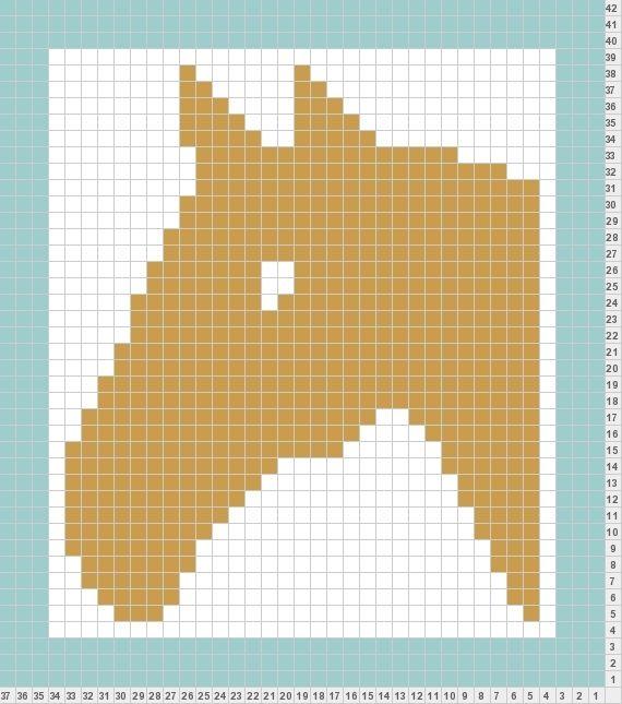 Knit Pony Pattern Backyard Chickens