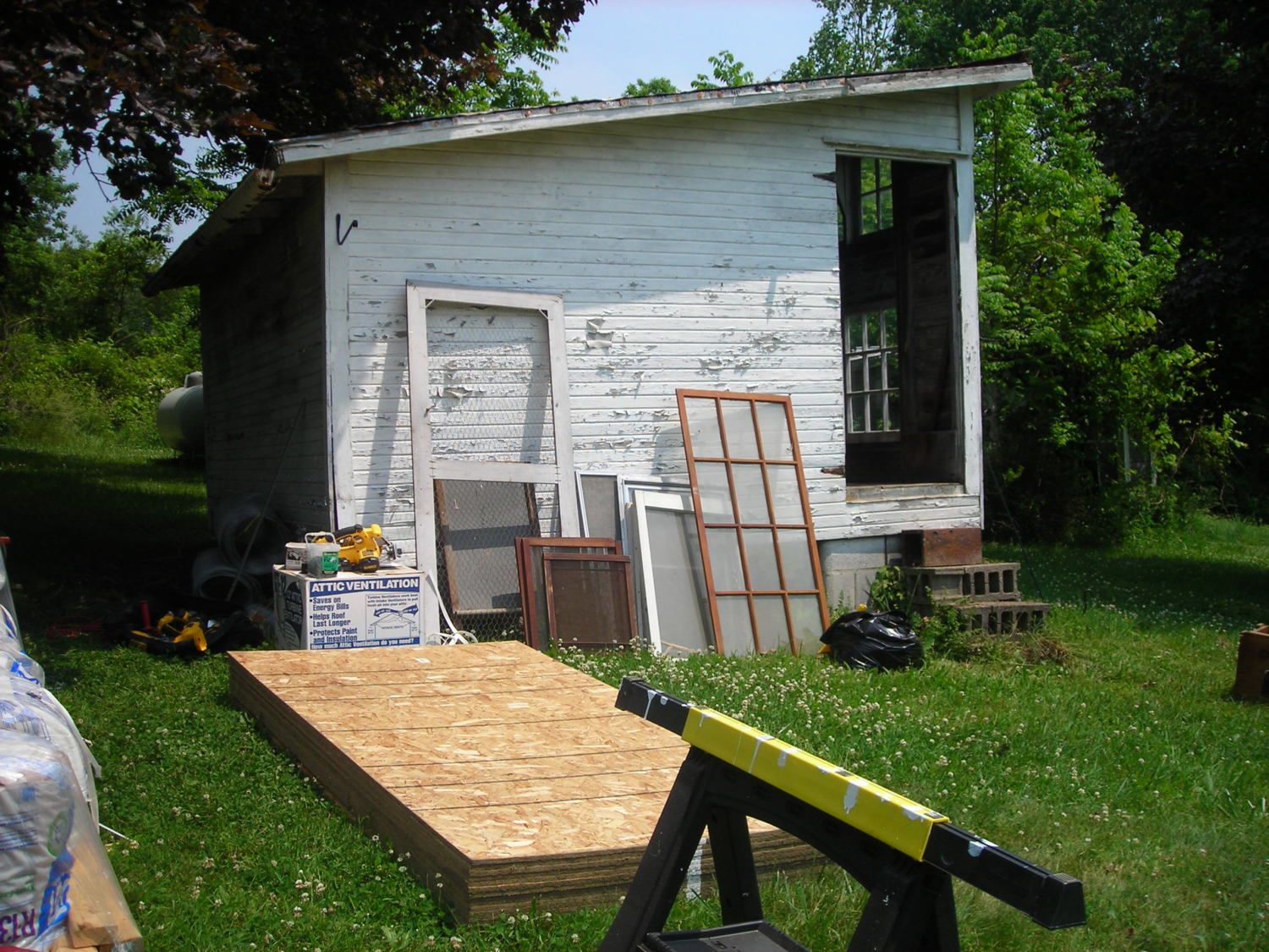 old building renovating to coop updated backyard chickens