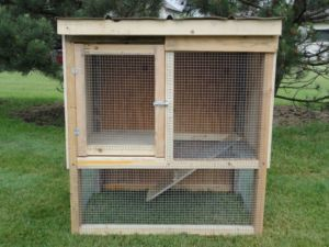 Do you think this has potential rabbit hutch conversion for How to make a rabbit hutch from scratch