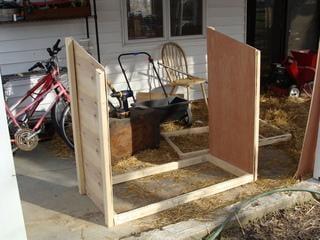سلسلة بناء حظيرة للدجاج بالطرق 2buildingchickentrac