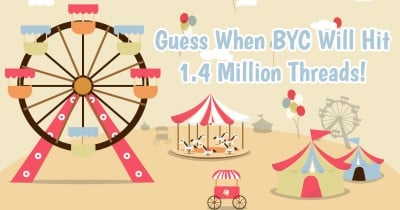 Guess When BYC Will Hit 1.4 Million Threads!