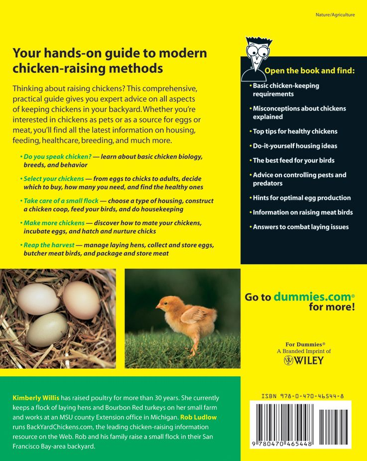 Raising Chickens For Dummies Book All You Need To Know In One Book