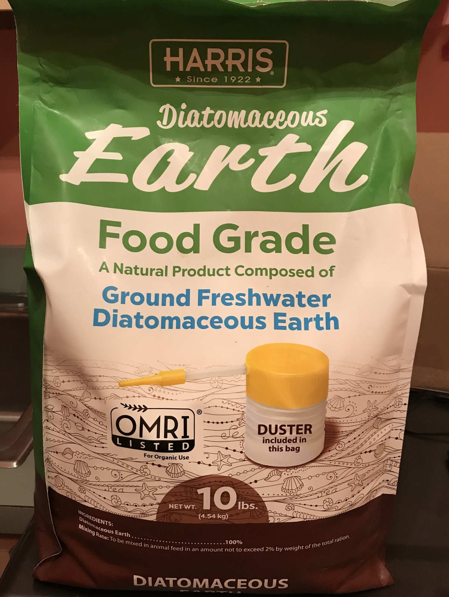 diatomaceous earth food grade free shipping